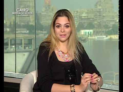 "Dina Hosny - Presenting Talk Shows October "" Ramy Radwan """