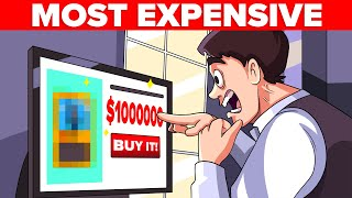 Top MOST EXPENSIVE Things Ever Sold Online