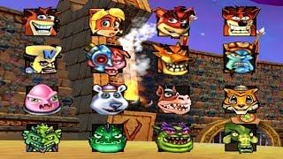 Crash Nitro Kart - All Characters