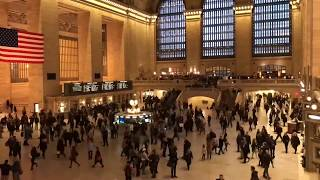 John F. Kennedy Airport Via Grand Central to Time Square