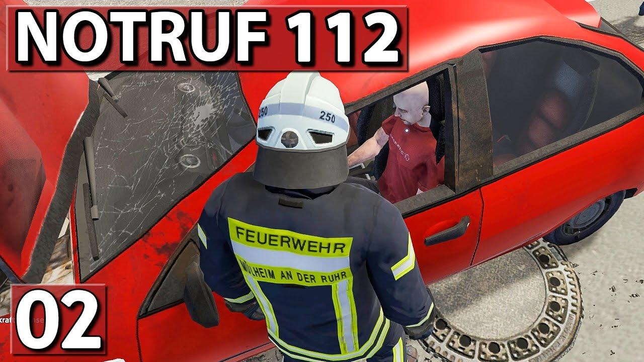 DOPPELTER EINSATZ ▻ NOTRUF 112 #02 ▻ Feuerwehr Simulation - YouTube
