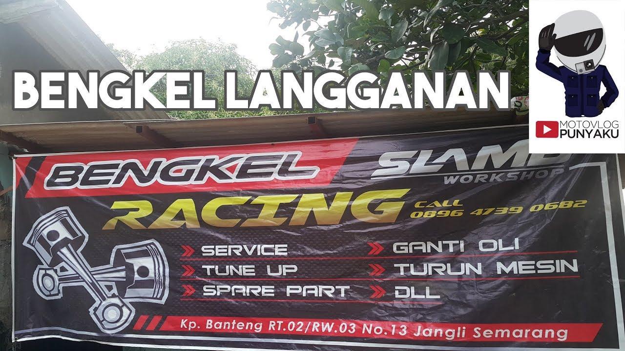 40+ Trend Terbaru Contoh Spanduk Bengkel Sepeda Motor ...