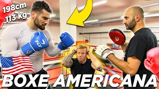 L'allenamento di un CAMPIONE che combatte in AMERICA nella TOP RANK! 🥊🇺🇸