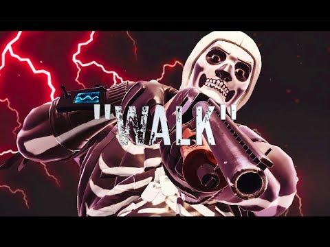 "Fortnite Montage ""WALK""  Feat. COMETHAZINE🖤🔥"