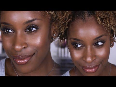 Simple No Makeup Makeup, 10 Minutes or Less | Jackie Aina thumbnail
