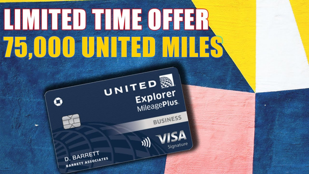 United Credit Card Customer Service United Explorer Business Credit Card Limited Offer