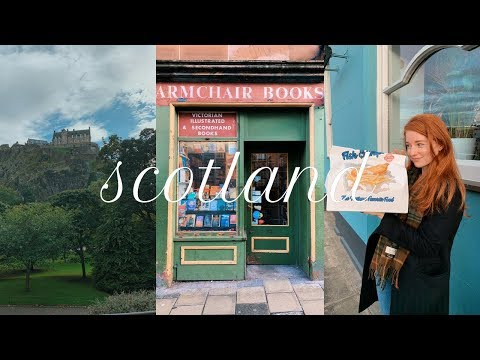 My First Trip To Scotland   Edinburgh + Glasgow VLOG