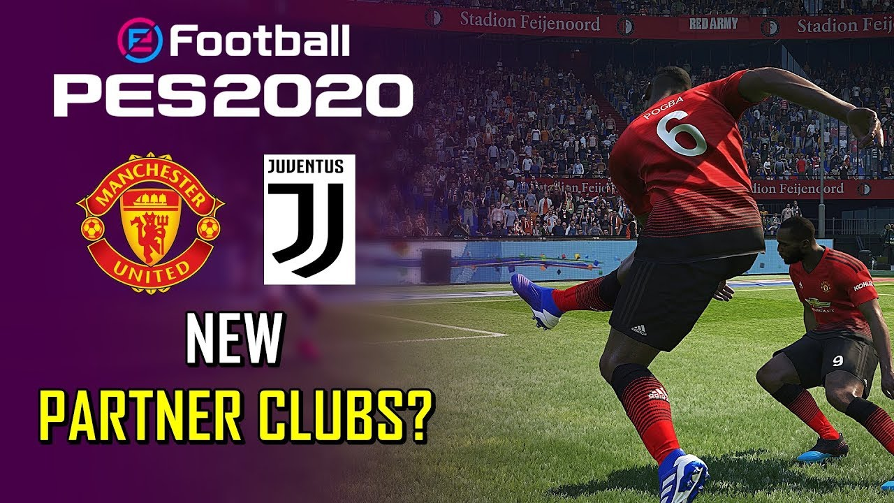 Konami's new partner clubs for PES 2020 may have been leaked