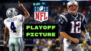 AFC and NFC Playoff Picture | NFL Rest of Season Predictions
