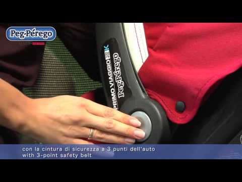 Автокресло Peg Perego Primo Viaggio TriFix K. Инструкция. Обзор