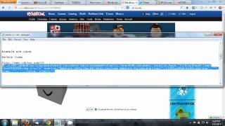 ROBLOX XSS Hack 2 [fixed]