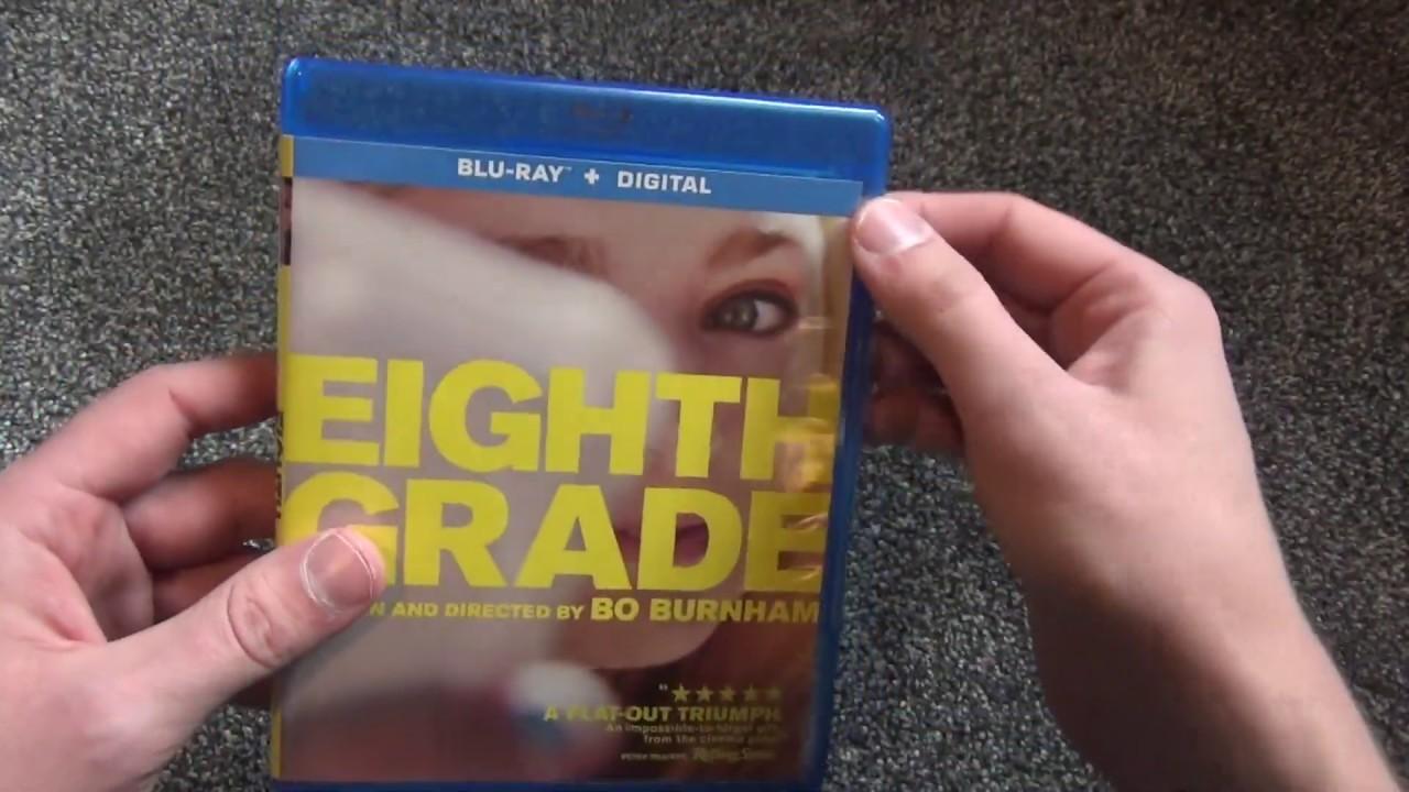 Download Bo Burnham Eighth Grade Blu-Ray Unboxing