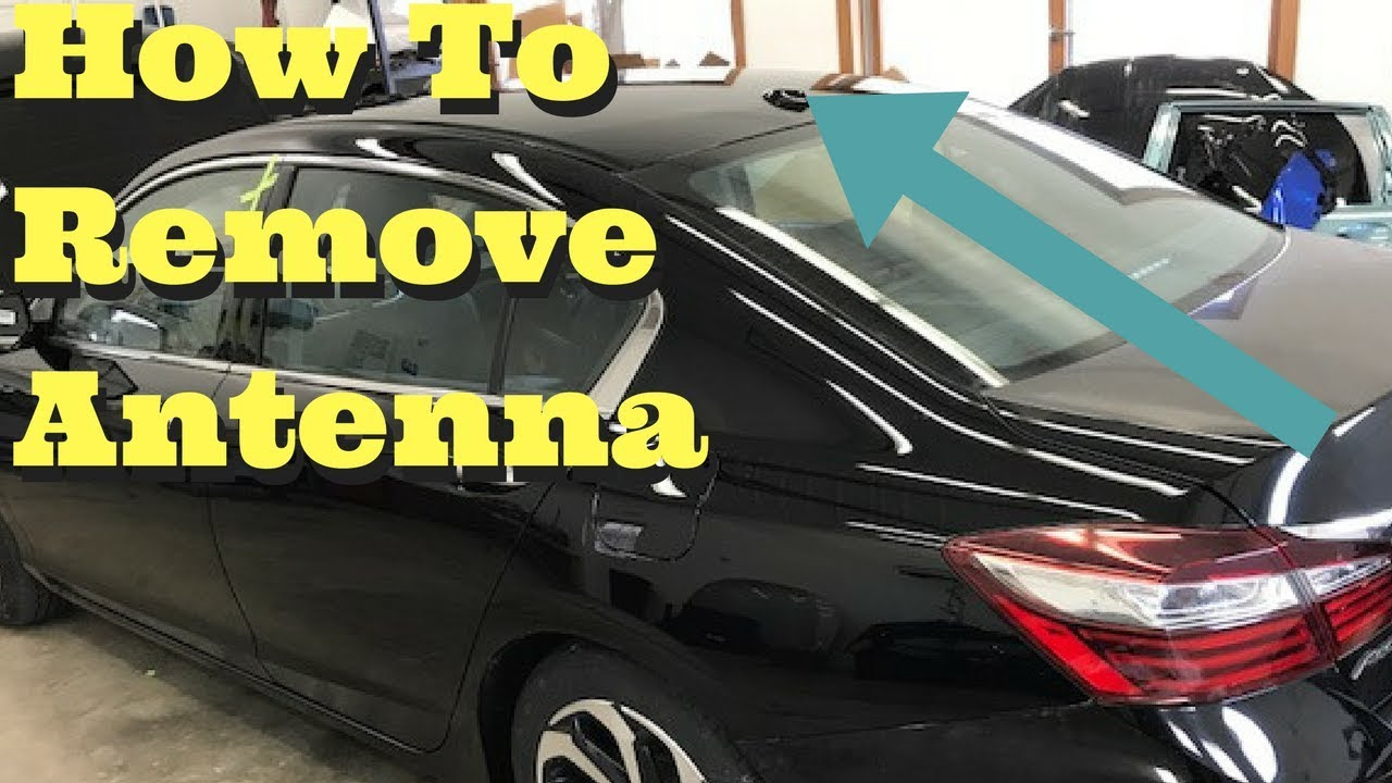 2013 2014 2015 2016 2017 Honda Accord How to Remove Antenna Shark Fin Removal Replace Install