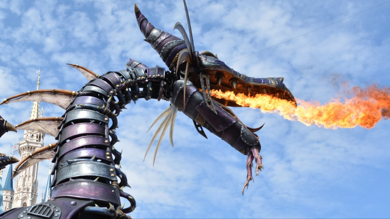 Festival of Fantasy Fire Breathing Maleficent Dragon In ...