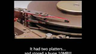 A brief history of the Hard Drive!!!