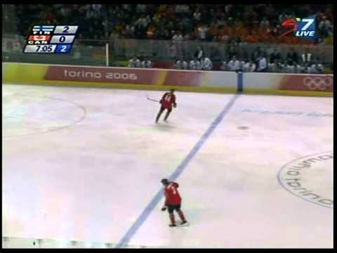 2006 Olympic Games in Turin, Finland - Canada (2)