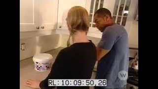 How to tile a backsplash in the kitchen part 1