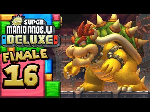 New Super Mario Bros. U Deluxe ITA [Parte 16 - BOSS FINALE Bowser]