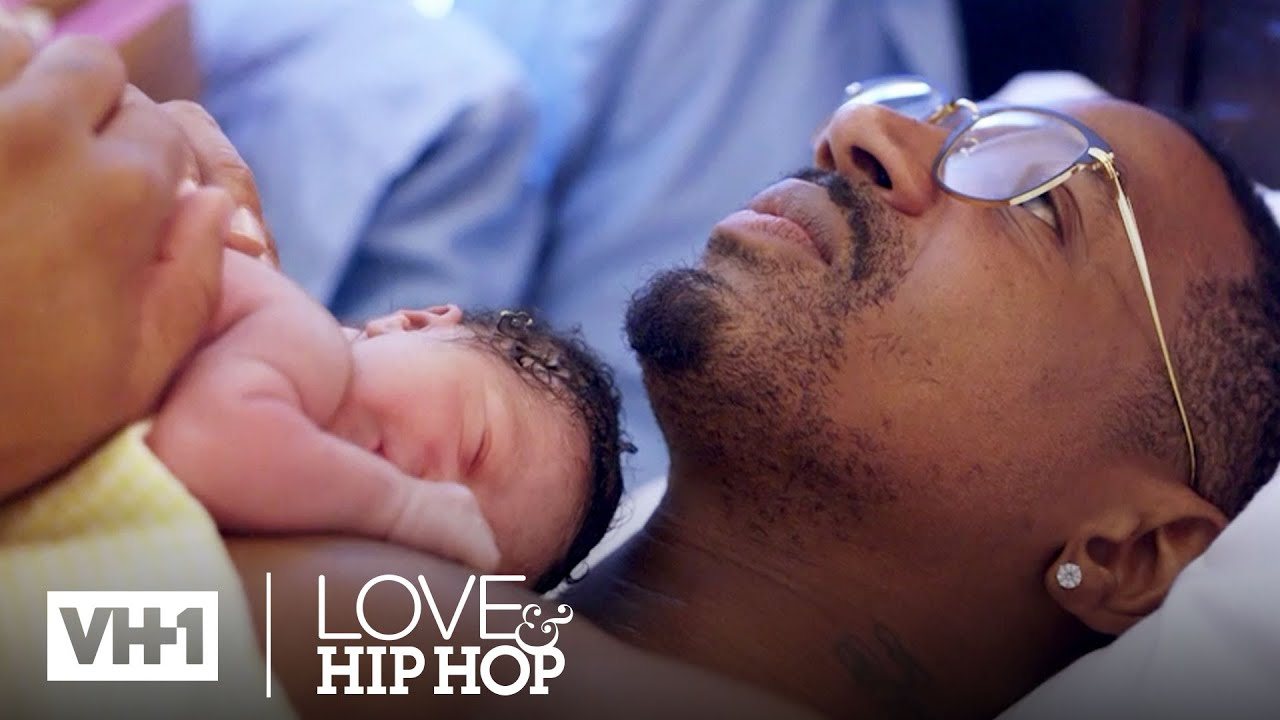 Stevie J Reacts to the Birth of Bonnie Bella | Love & Hip Hop: Atlanta