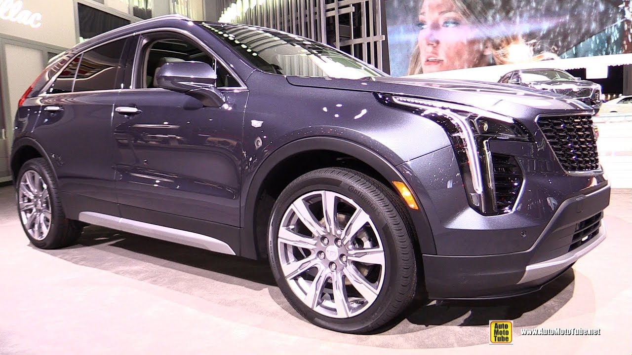 2019 Cadillac Xt4 Exterior And Interior Walkaround 2018 New York