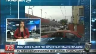 Falsa alarma: Reportaron amenaza de bomba en sede del PJ (Miraflores)