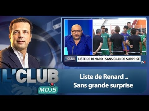 L'Club: Liste de Renard .. Sans grande surprise