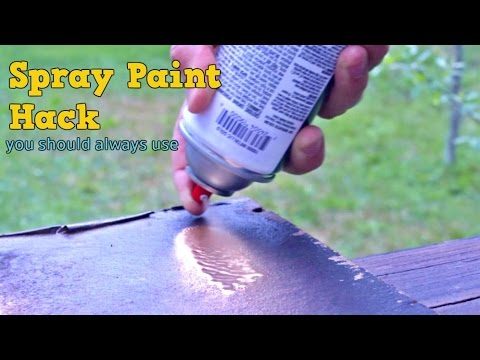 Spray Paint Hack
