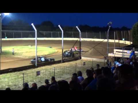 Doe Run Raceway Mini stock Heat 7-24-15