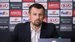 «Зенит» — «Фенербахче»: предматчевая пресс-конференция Сергея Семака