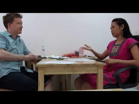 Olly speaking Thai after 11 days in Thailand