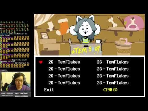 Undertale: Paying for Temmie College!