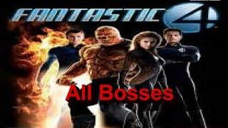 Fantastic Four All Bosses PS2