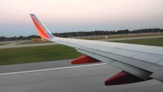 Southwest Airlines - Omaha Eppley Airfield Early AM Take-off