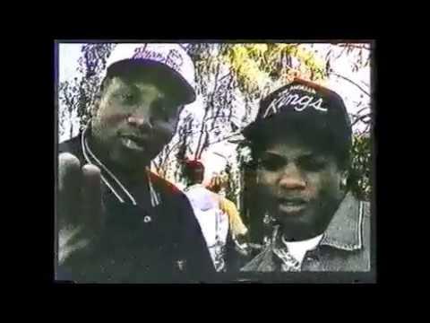 Rare Eazy-E Mc Ren Interview 1991