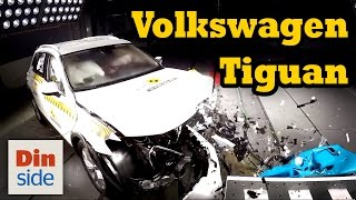 Краш-тест и видео краш-тест Volkswagen Tiguan (Фольксваген Тигуан)