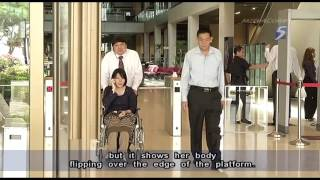 Video footage of Thai teenager's MRT accident shown in court - 31Oct2012