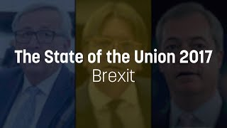 Brexit in SOTEU: Juncker urges EU to move on; Verhofstadt and Farage clash