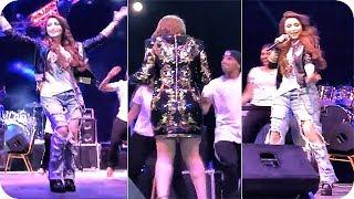 رقص نسرين طافش في مهرجان مومنتز بالأردن كامل 😱