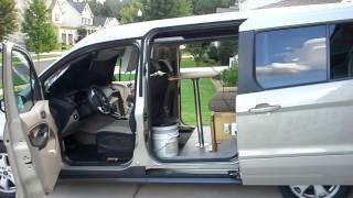 van camper from ford transit connect 2015