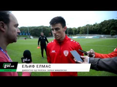 GOL.MK: Ељиф Елмас пред натпреварот со Португалија