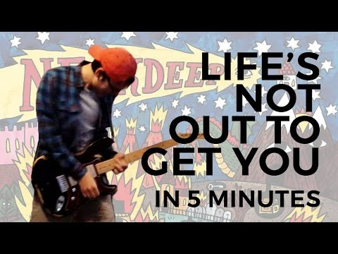 Neck Deep - Life's Not Out To Get You in 5 Minutes (Guitar Cover)