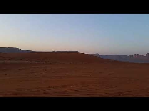 Red sand ##Riyadh sun rise