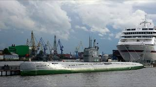 Смотреть видео Музей подводная лодка С 189  -   Санкт Петербург онлайн