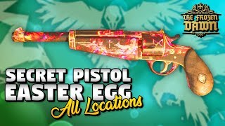 The Frozen Dawn: SECRET MINI WONDER PISTOL (All Locations) WW2 Zombies DLC4 EASTER EGG TUTORIAL