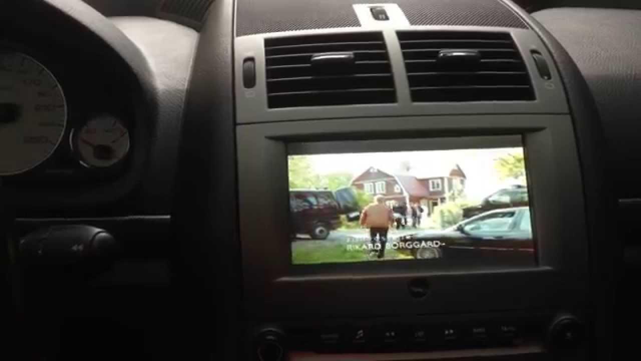 Peugeot 407 1 6 Hdi Multimedia Display Youtube