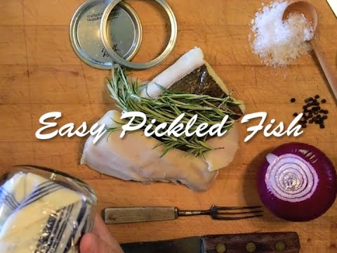 How To Make Easy Pickled Fish