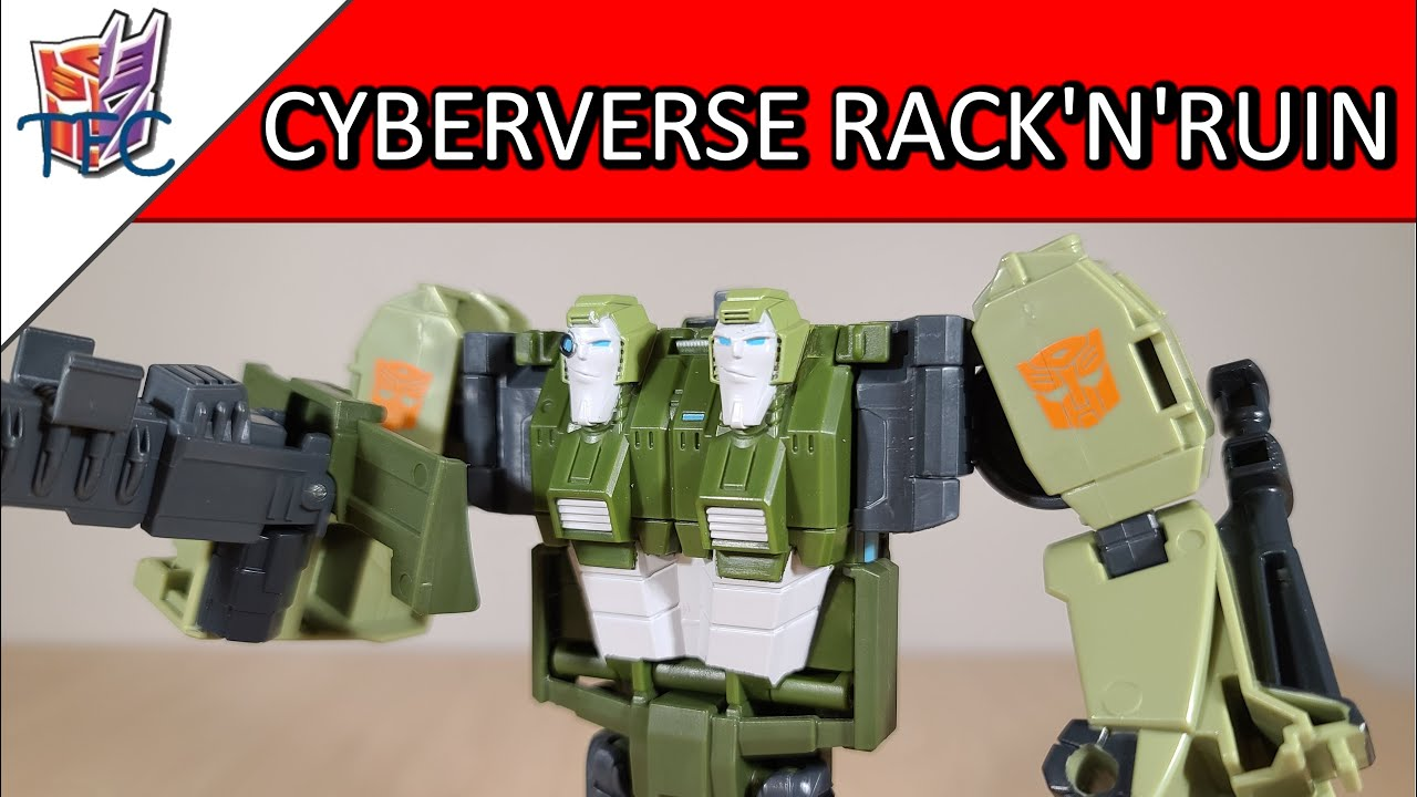 TF Collector Cyberverse Rack'n'Ruin Review!