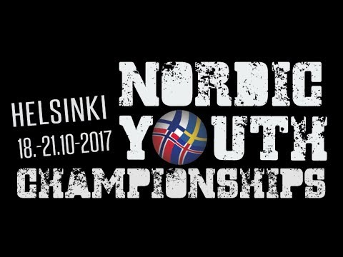 Nordic Youth Championships 2017 - Masters Medal ceremony