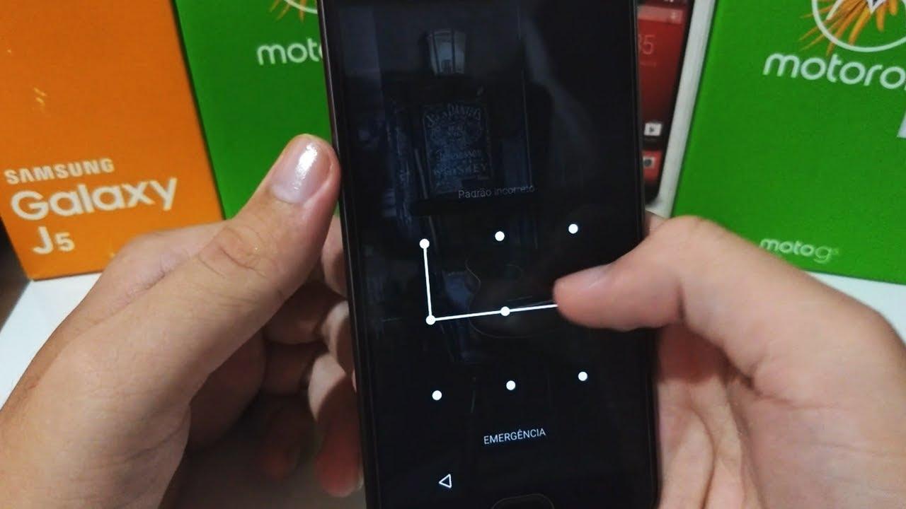 como descobrir senha do celular samsung j5