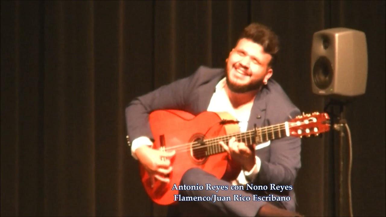 Antonio Reyes con Nono Reyes en Peñarroya - Bulerías